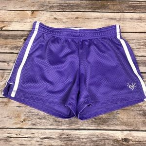*3 FOR $15* Justice Girls Athletic Track Shorts 7